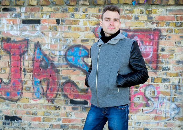 ИГОЛКА С НИТОЧКОЙ. Как сшить мужскую куртку косуху