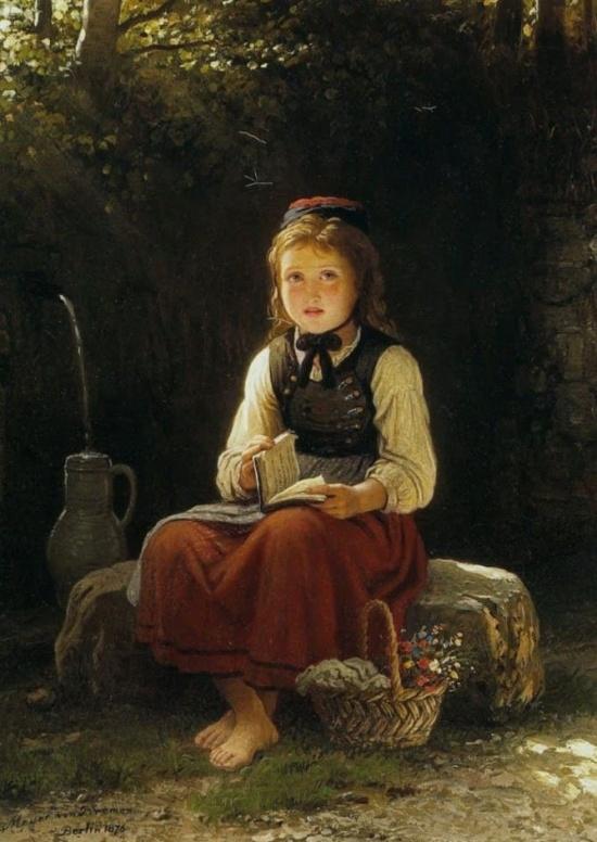 художник Иоганн Георг Майер фон Бремен (Johann Georg Meyer von Bremen) картины – 15