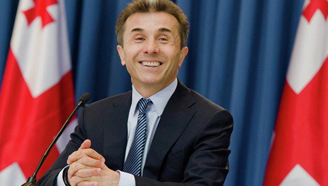Лидер правящей партии Грузии…