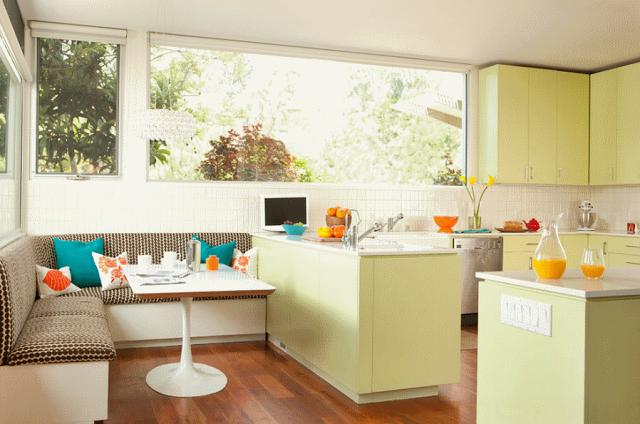 Кухонный уголок в интерьере: 55 идей