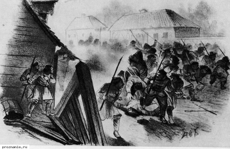 Польское восстание: шляхту «…