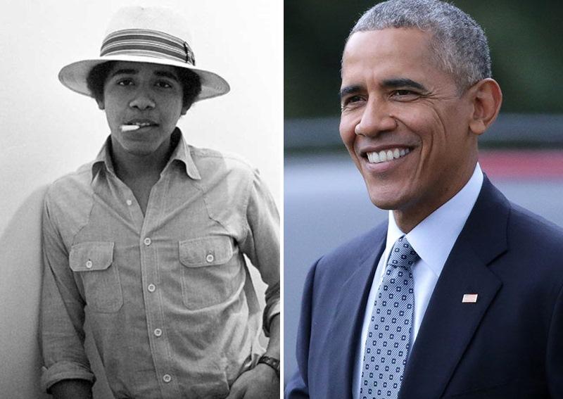 Барак Обама. Политики в молодости: вот как они выглядели (фото)