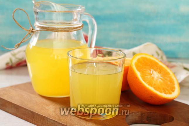 Безалкогольные напитки. Апельсиновый морс