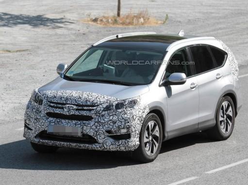 Кроссоверу Honda CR-V «светят» новые мотор и КП