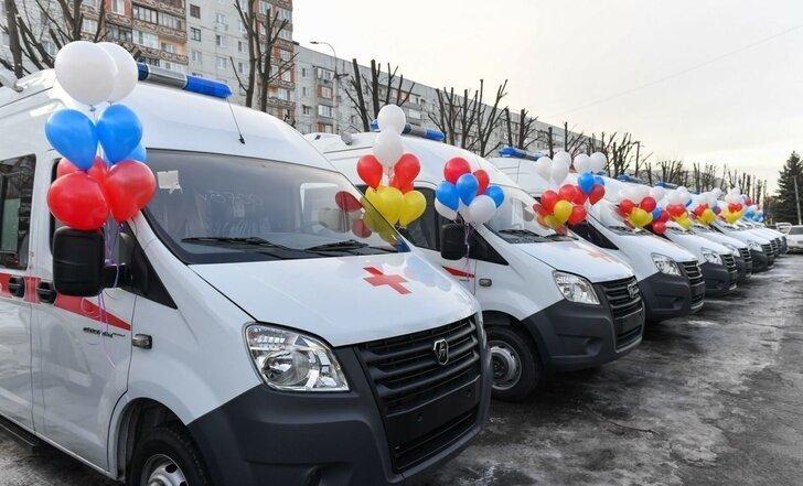 Северная Осетия получила 24 автомобиля скорой помощи Хорошие, добрые, новости, россия, фоторепортаж