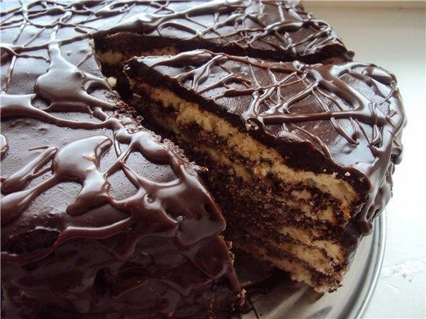 Торт «Мулатка», восхитительное сочетание вкусов.Попробуйте с кофе
