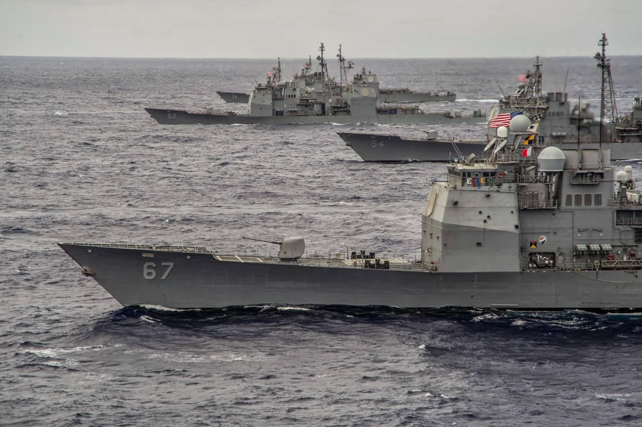 ВМС США решили списать шесть крейсеров типа «Тикондерога»