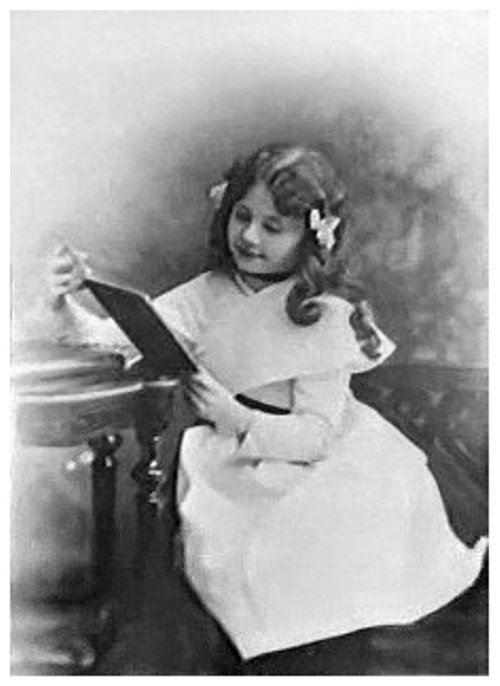 Орлова Любовь в детстве. Фото