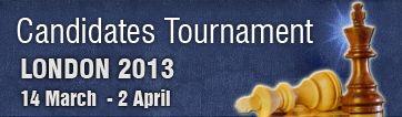 Турнир претендентов 2013 по шахматам. Восемь гроссмейстеров играют в два круга