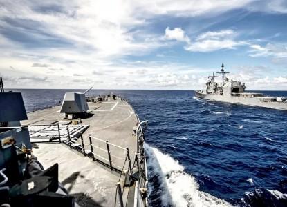 Корабли натовской тактической группы подошли поближе к Сирии