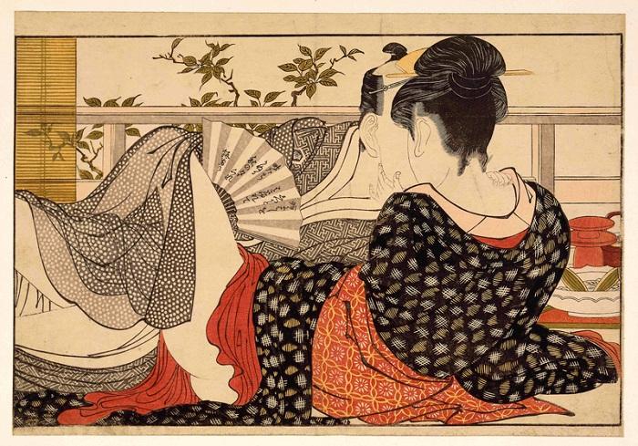 Сюнга: Утонченная пикантность и абсолютная вульгарщина на японских гравюрах «для взрослых», которые рисовали 12 веков назад