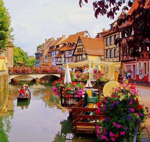 Кольмар — самый очаровательный город во Франции
