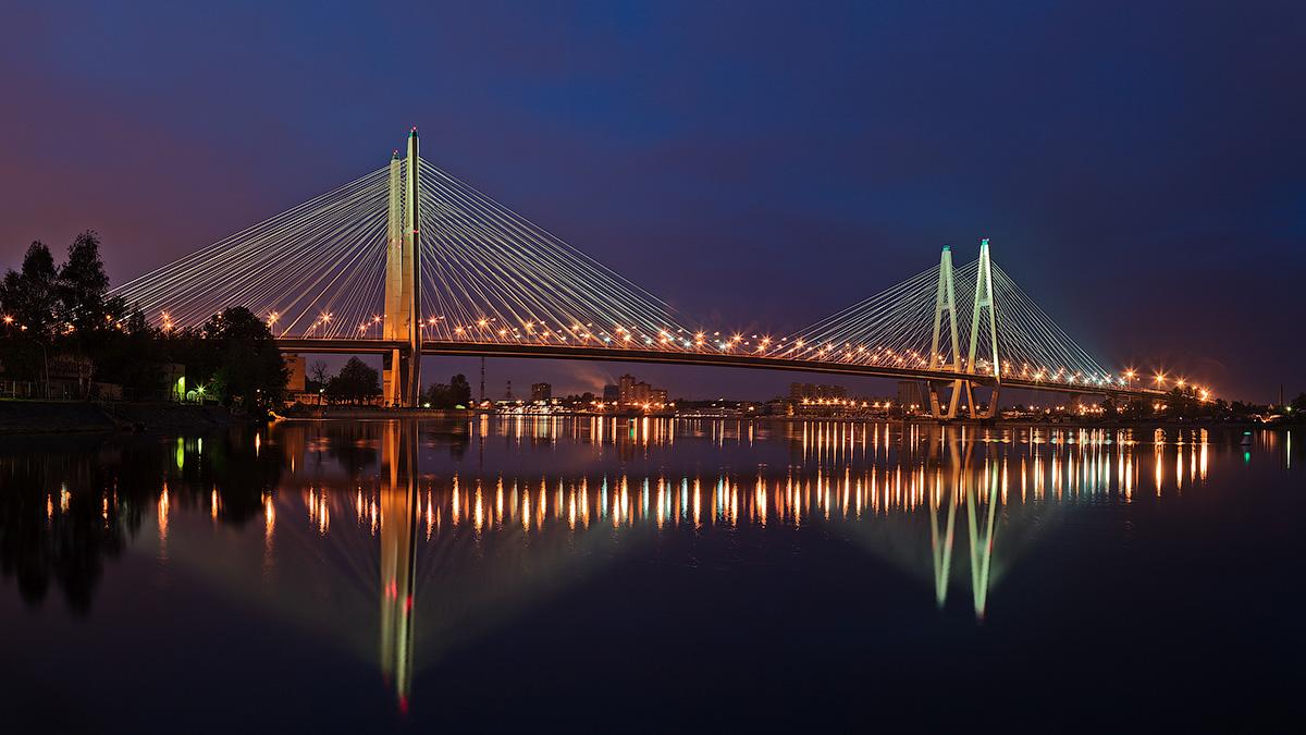 У нас мост построят, это будет очень красиво!