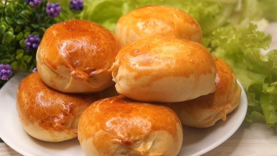 Моментальные пирожки на кефире