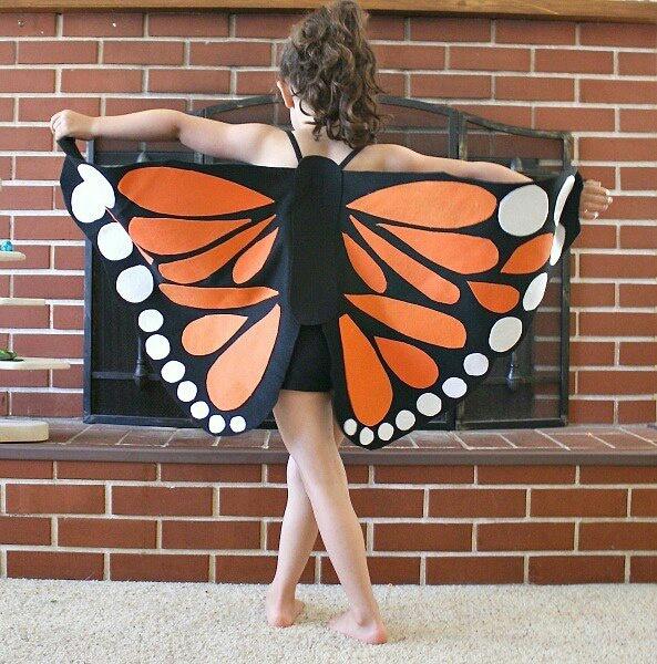 Крылья (на примере бабочки) своими руками DIY