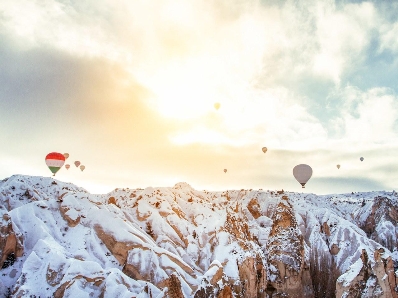 Зимушка-зима в разных уголках нашей планеты