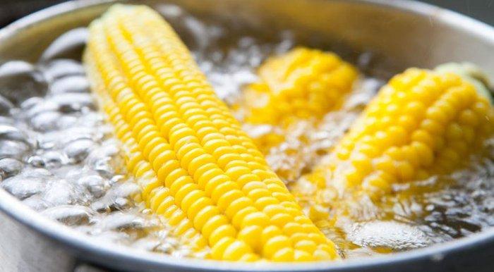 Как правильно варить кукуруз…