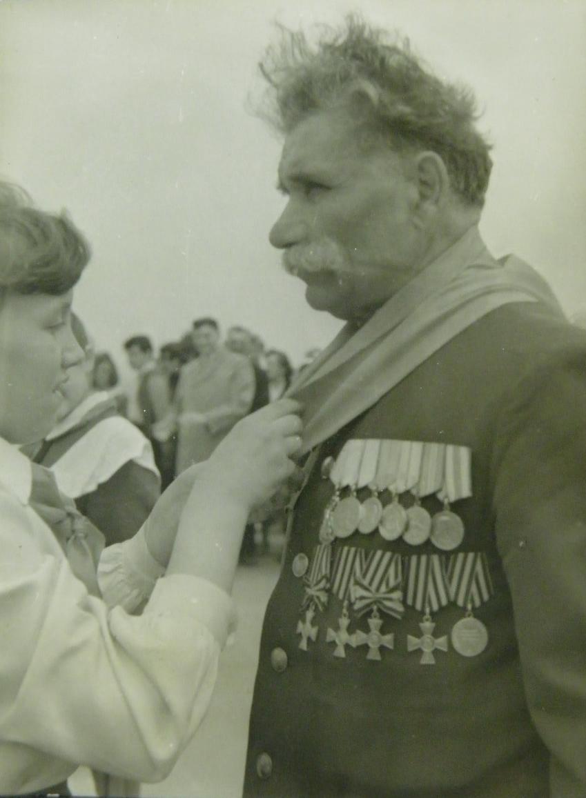 Полный Георгиевский кавалер Цымбалюк А. И. (1)