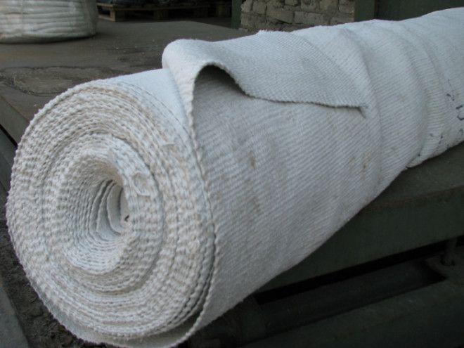 Суть в подходящей асбестовой ткани