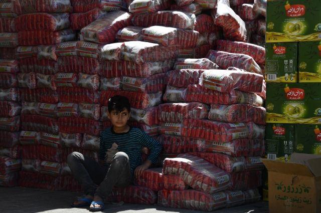 Самолеты МЧС РФ доставили около 100 тонн гуманитарной помощи в Сирию