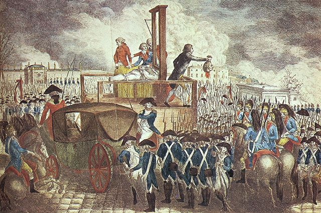 Гильотина для короля. Как казнили Людовика XVI