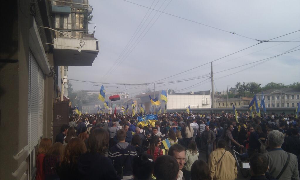 Столкновения в Харькове
