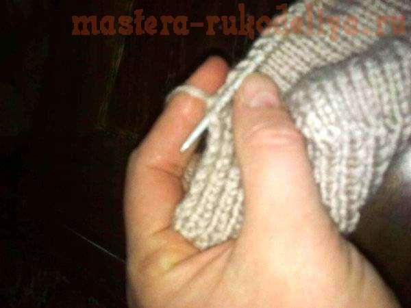 Мастер-класс по вязанию: Тапочки-носки спицами за пару часов