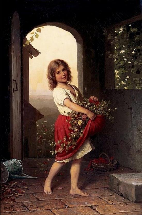 художник Иоганн Георг Майер фон Бремен (Johann Georg Meyer von Bremen) картины – 17