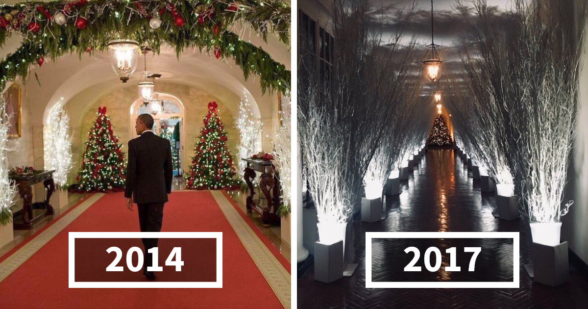 30+ Hilarious Reactions To Melania Trump's 'Creepy' White House Christmas Decorations