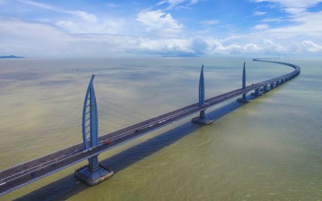 Дельта: самый длинный морской мост мира