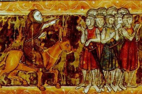 Какая блоха укусила крестоносцев?
