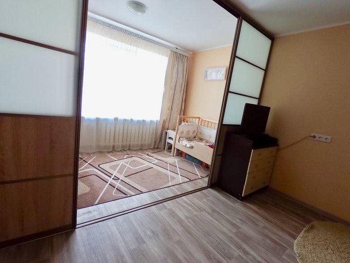 Ремонт в 34-метровой квартире для семьи с малышом: уложились в 5,5 тысячи рублей