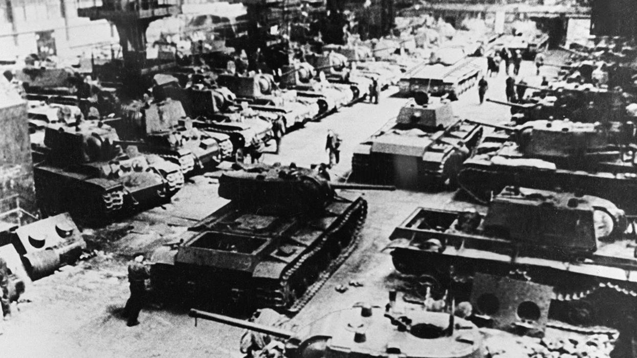 Экономика Великой Победы: Мобилизация