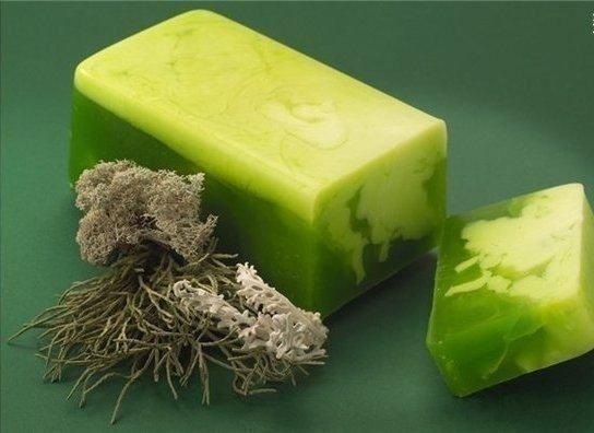 Травяное мыло.