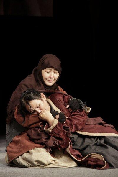 Спектакль «А.Л.Ж.И.Р.» театра имени Грибоедова вТбилиси. Источник: wikimedia.org