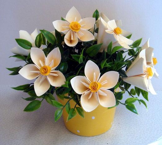 Своими руками цветы в горшках