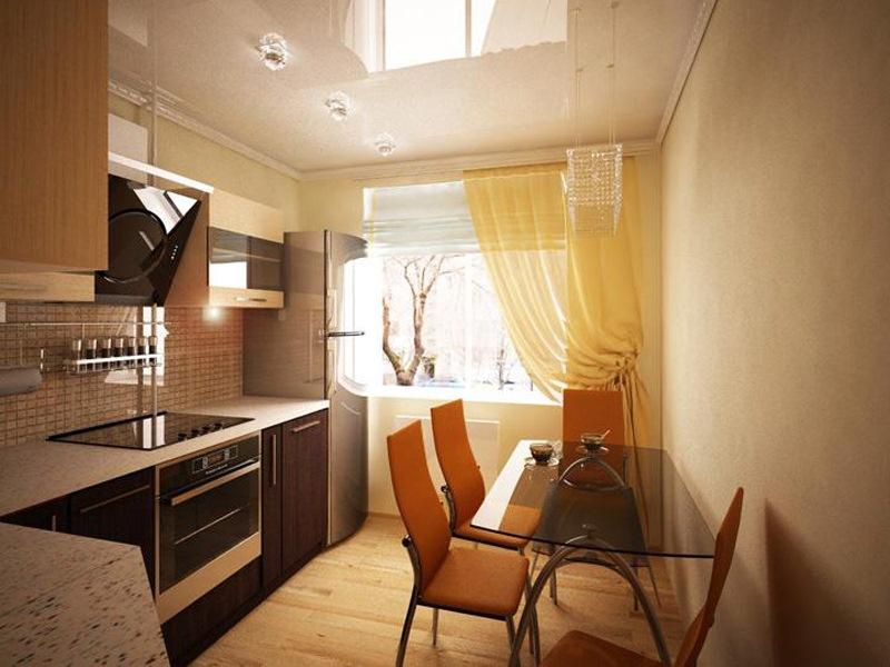 Ремонт кухни дизайн 12 кв.м