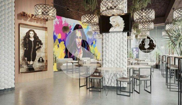 """""""Попахивает сектой"""": В сети раскритиковали ресторан Бузовой, все стены которого увешаны ее портретами"""