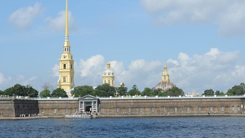 Из Петропавловской крепости украли маску льва