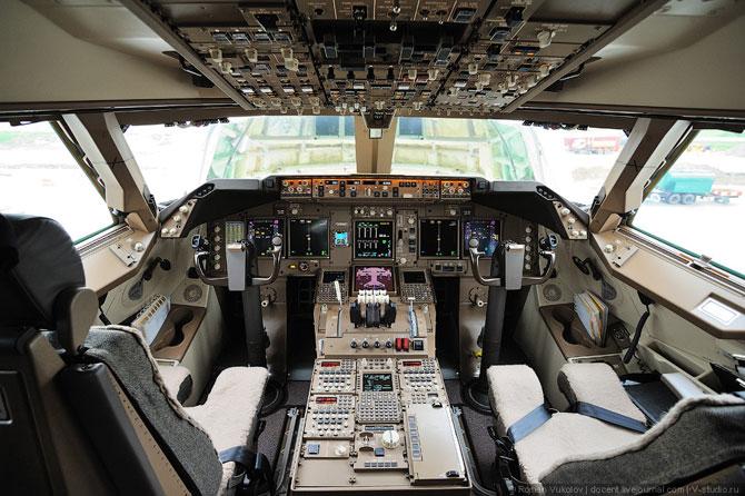 Самый длинный самолет Боинг 747-8F