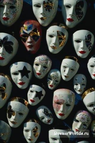 Притча «Волшебные маски»