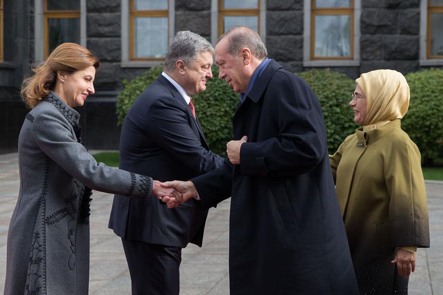 Эрдоган считает Крым украинским. Но Путина - дорогим другом