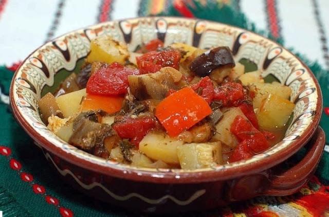Овощи в горшочке