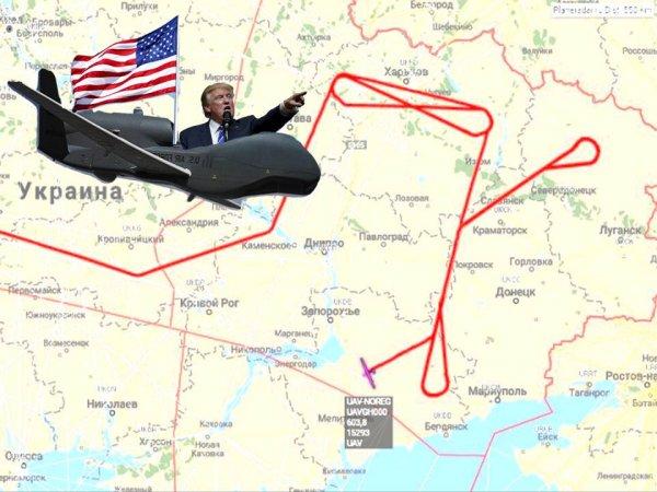 Разведка ВВС США активизировала свою деятельность на границе с Россией