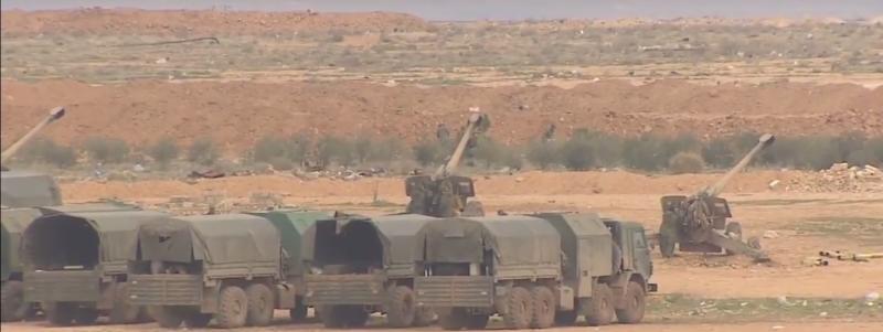 Российские военные понесли потери в Сирии