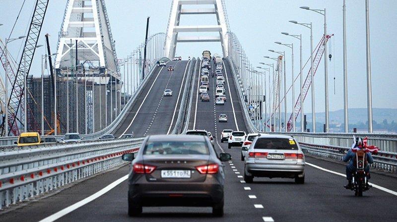 С открытием Крымского моста увеличился туристический поток на полуостров