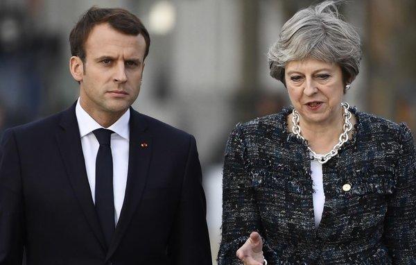 Рядовые британцы и французы …