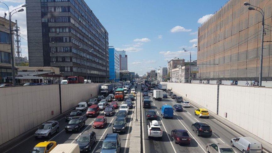 В Москве прогнозируют пробки в ближайшие часы — ЦОДД
