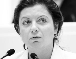 Симоньян рассказала об угрозах экс-посла США пожаловаться на нее Медведеву