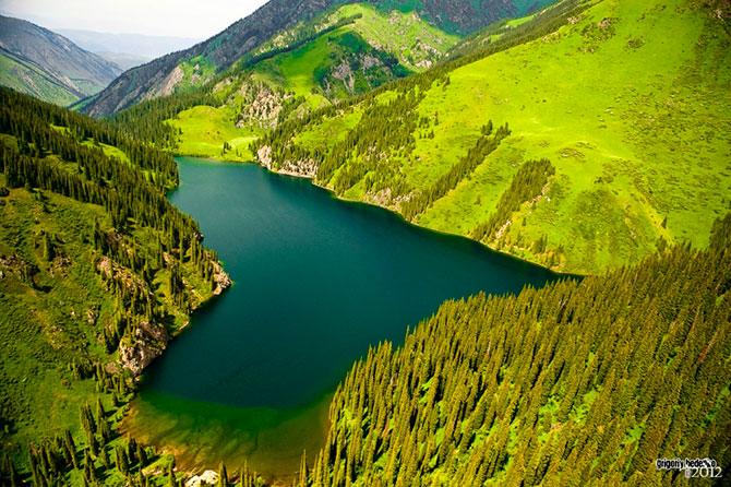 Юго-восток Казахстана в фотографиях